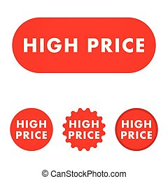 High price button