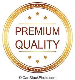 High Quality Golden Badge