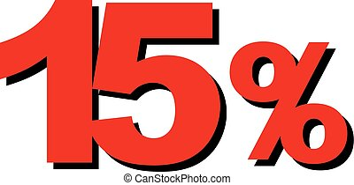High Quality Graphic Illustration Vector Sale 15 Percent