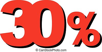 High Quality Graphic Illustration Vector Sale 30 Percent