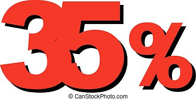 High Quality Graphic Illustration Vector Sale 35 Percent