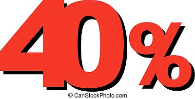 High Quality Graphic Illustration Vector Sale 40 Percent
