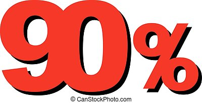 High Quality Graphic Illustration Vector Sale 90 Percent