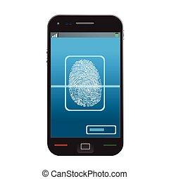 smartphone - High quality illustration of modern smartphone ...