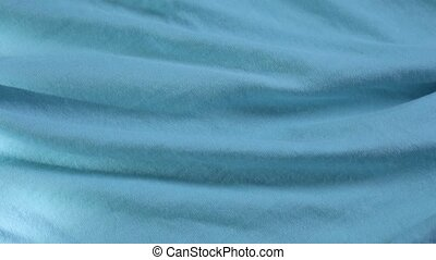 High quality light blue texture of modern clothing fabric.