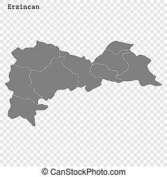 High Quality map is a province of Turkey