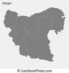 High Quality map of governorate of Syria - High Quality map ...