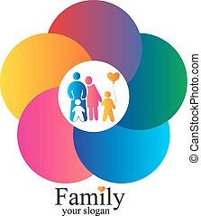 family vector design