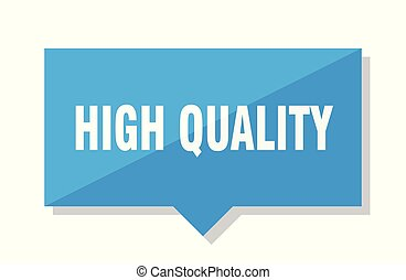 high quality price tag
