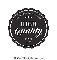 High Quality Round Emblem