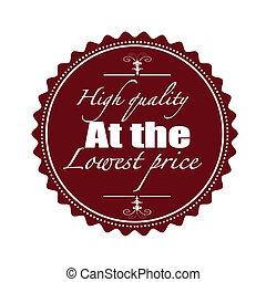 high quality stamp