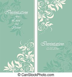 wedding invintation or party invinatation card