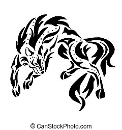 High quality Wolf tattoo