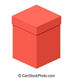 high red gift box