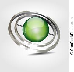 High reflected logo/logotype - Originally designed high...