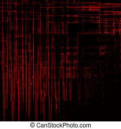 High-res matrix background - High resolution modern abstract...