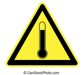 High Temperature Yellow Warning - High Resolution High ...