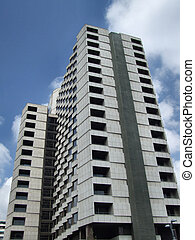 High rise building - Modern building in Barcelona centre....