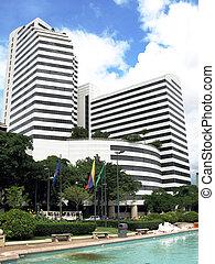 high-rise, predios, em, caracas, venezuela