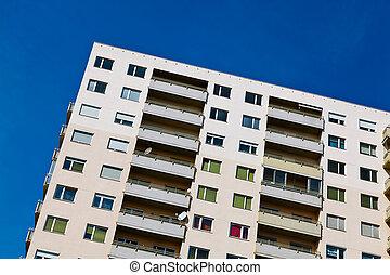high-rise, residencial, predios, como