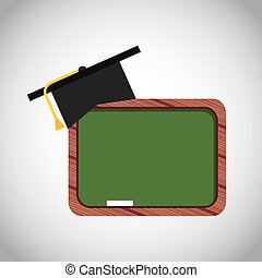 high school design - high school icon design, vector...