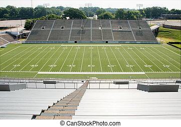 High School Football Stadium - High school football stadium...