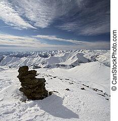 High Snow Mountains