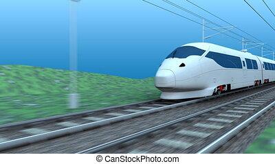 High speed rail.