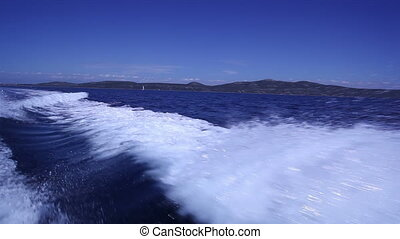 High speed ship waves with CANON Mkll