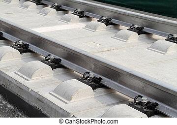 rail track - High Speed Trains rail track