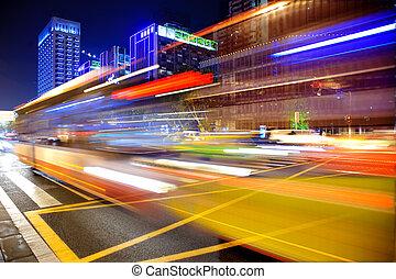 High-speed vehicles on urban roads