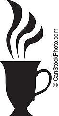 High tea cup