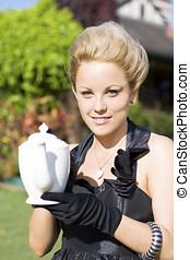 High Tea Woman