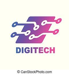 high-tech-, daten, verwandt, geschaeftswelt, edv, innovativ,...