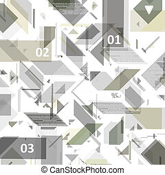 High Tech design for infographics. - High Tech design for...