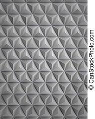 High Tech Futuristic Aluminum Wall