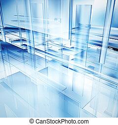 high tech, glas