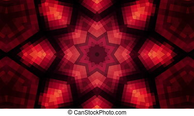 High tech Kaleidoscope Looping Animated Background