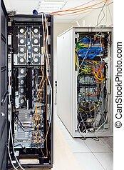 High tech network servers