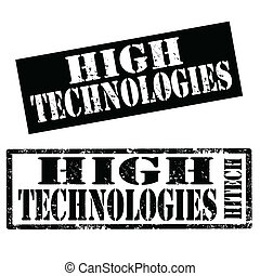 High Technologies-stamps