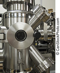 high technology scientific vacuum chamber in research...