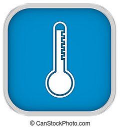 High temperature sign