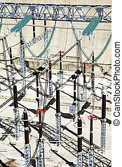 High tension station