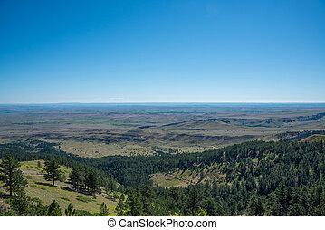 High vantage point overlooking Wyoming - Beautiful Wyoming...