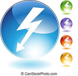 High Voltage Crystal Icon