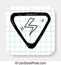 High-voltage  doodle