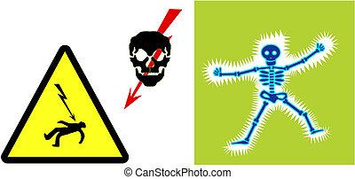High voltage illustrations
