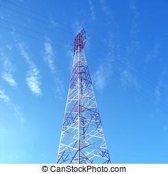 High Voltage Power Mast