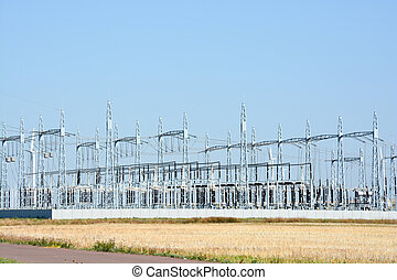 High voltage power station