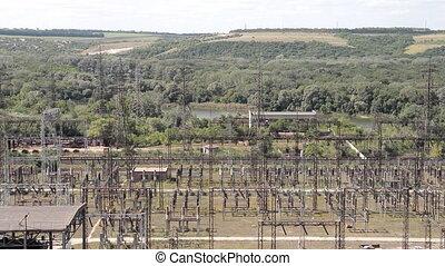 high voltage rows